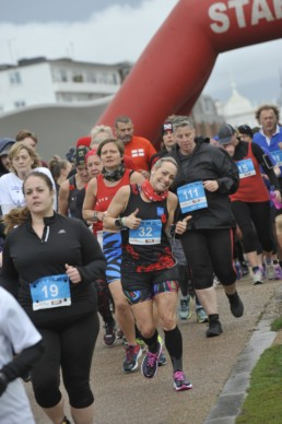 Running event in East Sussex